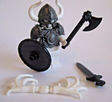 Custom VIKING WARRIOR ARMOR & WEAPON PACK for Lego Minifigures