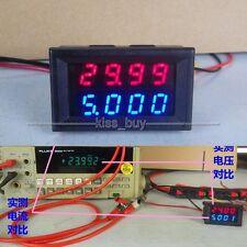 DC 500V 10A  digital led Voltmeter & Amperemeter Spannung Strom Ampere 12V 24V