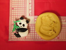 Panda Bear Silicone Push Mold A791 For Resin Craft Chocolate Fondant Gumpaste