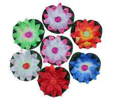 Paper Lotus Flower Floating Lantern Wishing Lamp Wedding Party Decoration 10pcs