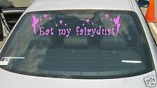 EAT MY FAIRYDUST - STICKER WITH TINKERBELL car window