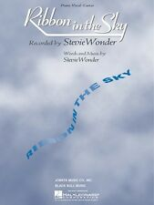 Ribbon in the Sky Sheet Music Piano Vocal Stevie Wonder NEW 000352014