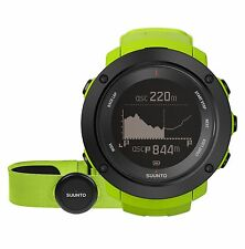 Suunto Ambit3 Vertical Lime (HR) Multisport GPS Heart Rate Watches SS021970000
