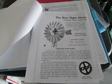 New Elgin Model R Windmill Descriptive Guide & Cutaway