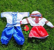Ukrainian embroidered folk costume for baptism, baby, vyshyvanka. Embroidery