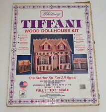 Whitney Tiffani Wood Dollhouse Kit Radmark International Starter DIY in Box