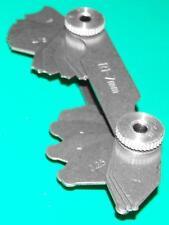 Gloster Radius Gauge penknife Set 1-7mm
