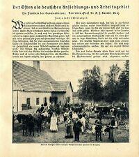 Prof.Dr. R.F.Kaindl, Graz Der Osten als deutsches Ansiedlungsgebiet Galizien1920