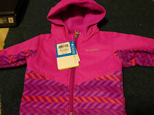 Columbia Infant 3-6 month Pink Purple Coat NWT
