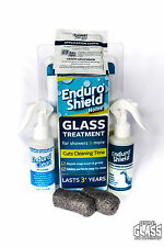 Enduroshield Glass protection for your shower - reduces cleaning time