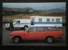 POSTCARD ROYAL MAIL POSTBUS MEETS ST ANDREW AMBULANCE MOBILE FIRST AID