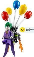 sh353 The Lego Batman Movie 70900 - The Joker Minifigure w Balloon Backpack New