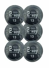 TECH 6 TYRE PUNCTURE REPAIR PATCHES INNER TUBE CAR TRACTOR TRUCK DUMPER EM