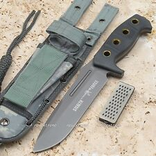 "Huge 12"" Stealth Force Military Tactical Survival Combat Rescue Knife 440 Blade"