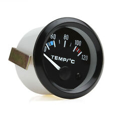 2 Inch 12V Car Pointer Water Temperature Temp Gauge 40 - 120 Celsius White LED