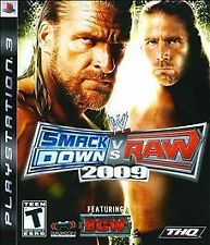 WWE Smackdown vs Raw 2009, Acceptable PlayStation 3, Playstation 3 Video Games