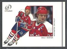 2002 Fleer Legacy Hockey - #63 - Dale Hunter - Washington Capitals