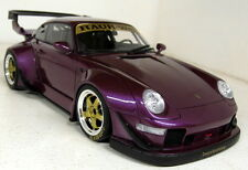 GT Spirit 1/18 Scale GT727 Porsche 911 993 RWB Evo purple Resin sealed Model Car