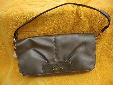 COACH F45981 LARGE FLIP WRISTLET / small bag IN B4 STEEL BNWT