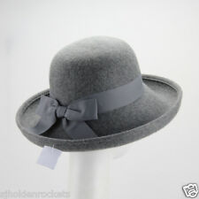 Women Men up-brim wool felt hat perfect for winter,casua or any special occasion