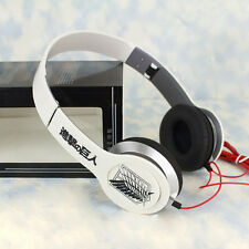 Anime Attack on Titan Stereo Bass Headband Headphone MP3 Phone PC Sport Headset