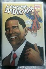 THE AMAZING SPIDER-MAN COMIC #583 PRESIDENT BARACK OBAMA COVER 2ND PRINT