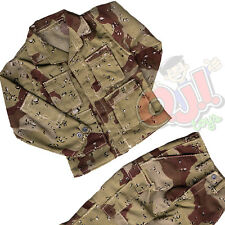 Dragon Models US Military Choco Chip BDU Jacket & Pants 1:6 Scale (1505d3)