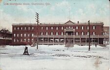 Canada Sherbrooke Quebec - New City House 1906 cover mailed postcard