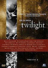 6050//TWILIGHT VOLUME 1 CLIPS ET PERFORMANCES LIVE  BANDES ORIGINALES DVD EN TBE