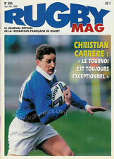 RUGBY No 984 Jan/Feb 1999 OFFICIAL MAGAZINE OF THE FFR - FRANCE