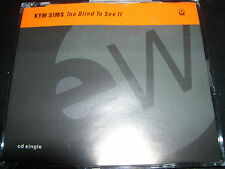 Kym Sims Too Blind To See It UK Remixes CD Single