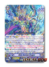 Cardfight Vanguard  x 4 Nixie Number Dragon - G-BT02/026EN - R Mint