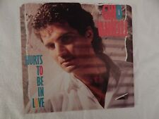 "Gino Vannelli ""Hurts To Be In Love"" PICTURE SLEEVE! BRAND NEW! NICEST COPY eBAY!"