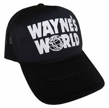 Wayne's World Trucker Hat Halloween costume Wayne Mesh Cap waynes world cosplay