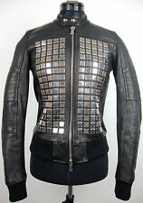 DIESEL BLACK GOLD LARTISC GIACCA Leather Jacket Damen Jacke Gr.34 NEU mit ETIKET