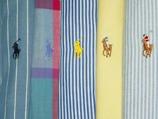 LOT OF 5 RALPH LAUREN POLO Mens M Shirts Long/Short Sleeve PONY Dress/Casual
