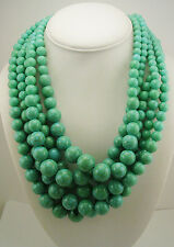 Kenneth Jay Lane Multi Strand Bead Necklace