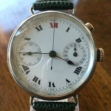 Breitling chronograph pushpiece Montbrillant, year 1916, vintage
