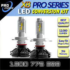 H4 H/L LED Headlight Kit Philips LED's Car Headlamp Bulb 12v24v SuperBrightWhite