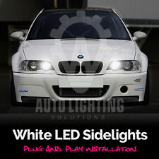 BMW E46 3 Series 1998-2005 Xenon White LED Sidelight Upgrade Light Bulbs