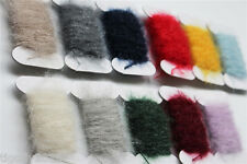 11 Cards Assorted Colors Ice Dubbing Thread Nymph Tying Body Fly Tying Materials