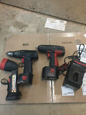 Snap On 3/8 Inch Impact Gun combo & Charger,Snap on Drill and light combo,CT3110