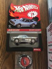 Hot Wheels 2013 RLC Membership Car '68 Copo Camaro Chrome 2505/3000 Chevy HWC