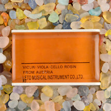 2PCS Natural Light Rosin For Violin Viola Cello Strings Orchestra Amber
