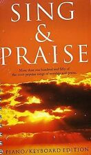 Sing And Praise Learn to Play Hymns Worship Church Piano Vocal Guitar Music Book