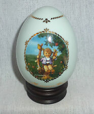 DANBURY MINT - HUMMEL EGG - APPLE TREE BOY  - (G1351D)