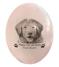 Ballons Pet Chien Photo Cadeau d'Anniversaire ballons personnalisés. 15 avec photo