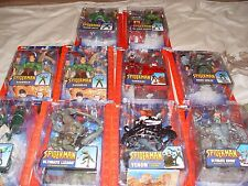 ToyBiz Marvel's Ultimate Spider-man action figure lot (2004) MOC