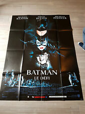 affiche cinéma movie poster 120x160 batman le défi
