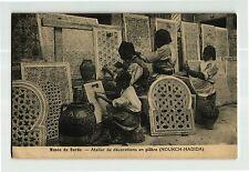 +++ 1925 Tunesia TUNIS Musée du Bardo. - Atelier de décorations en plâtre PC